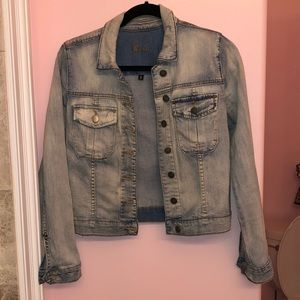 Kut from Cloth fitted denim jacket!